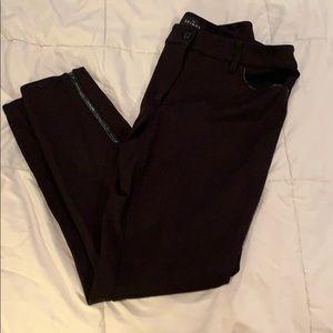 WHBM Black Stretchy Skinny Ankle Pants